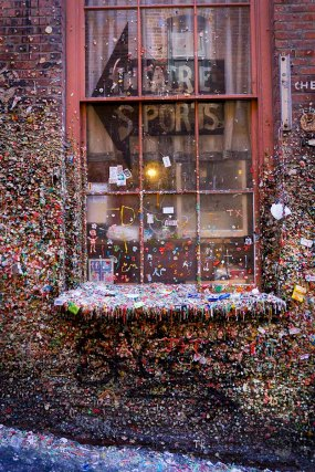 Pike Place Market's Gum Wall