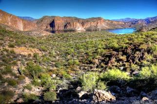 Saguaro Lake.