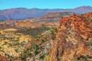 Arizona desert mountains.