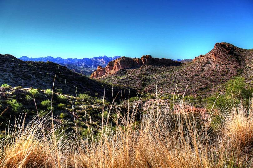 Desert Mountains.