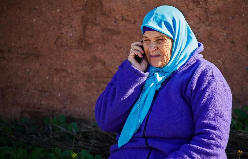 Moroccan Moslem Woman.