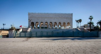 Mausoleum of Mohammed V.