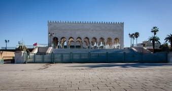 Mausoleum of Mohammed V.