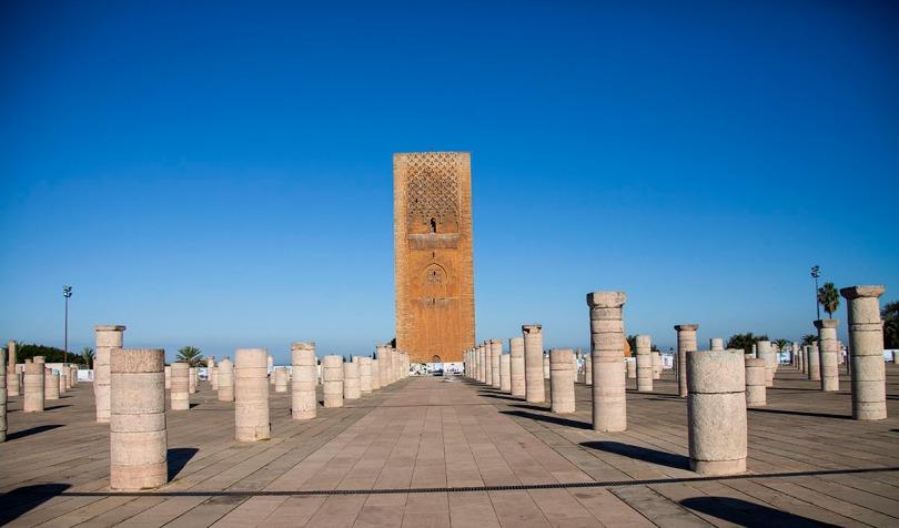 Hassan Tower, Rabat, Morocco.