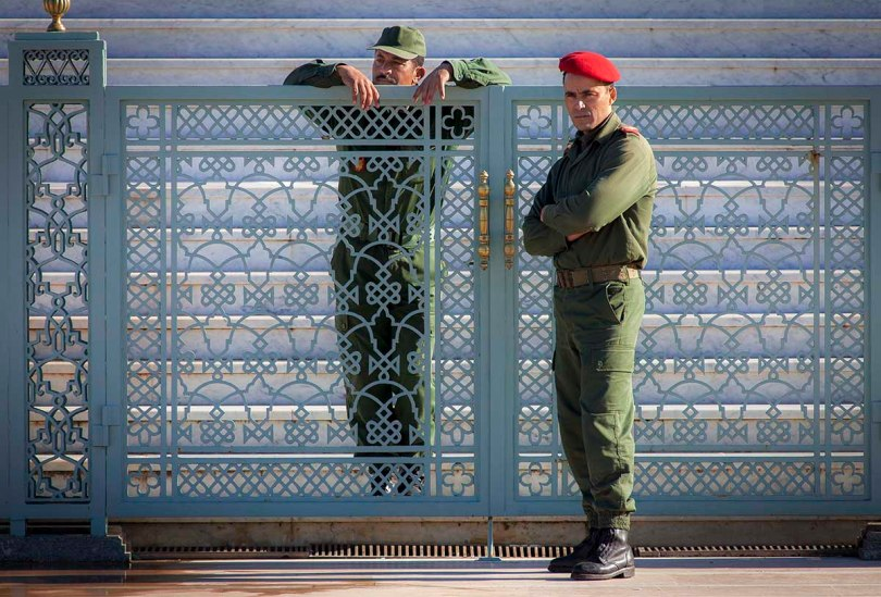 Moroccan military police.