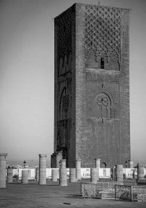 Hassan Tower Minaret.