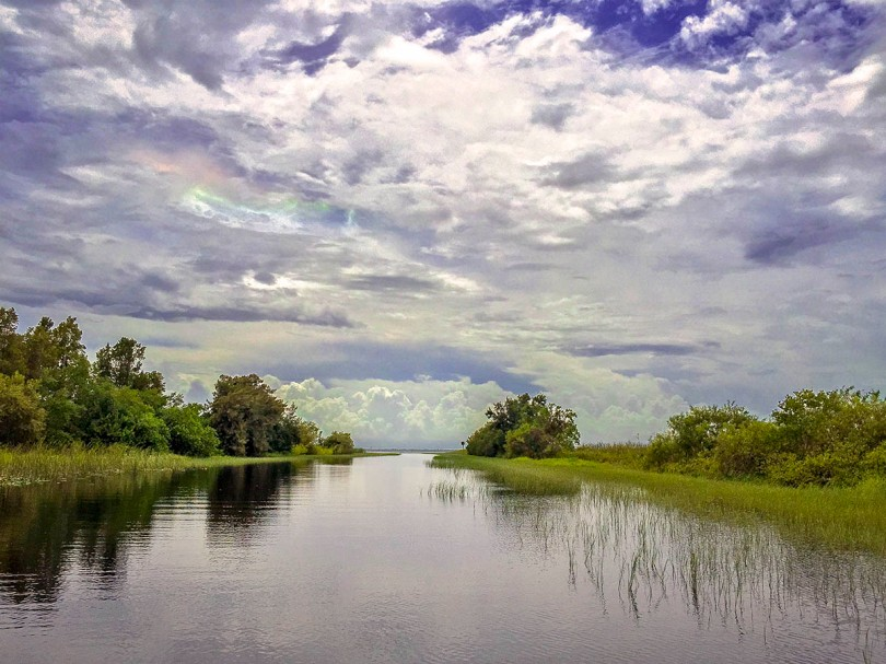 Boggy Creek, Florida.