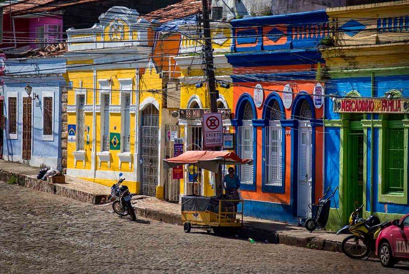 Olinda, Brazil, marketplace.