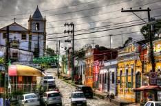 Olinda, Brazil marketplace.