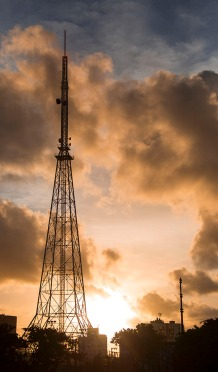 Recife, Brazil radio tower.