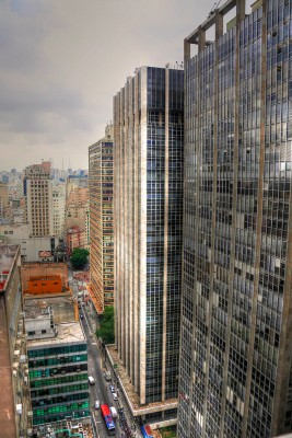 Sao Paulo skyscrapers.