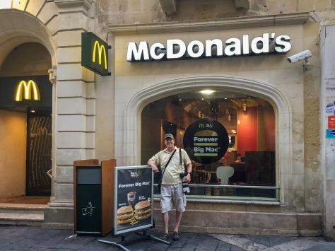 McDonalds, Valletta, Malta